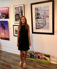 Katrina Wynne developed a video project and developed her photography skills with a Photographer at Gallery 36 in Downtown Stuart